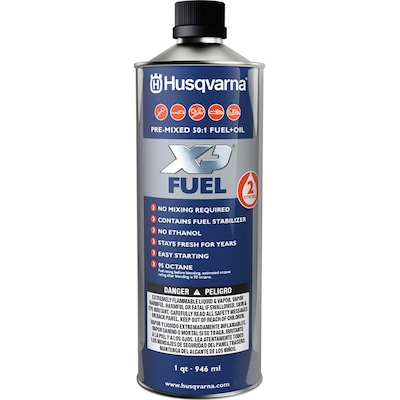 Husqvarna Pre-Mix 1-Quart Pre-Blended 2-Cycle Fuel at Lowes com