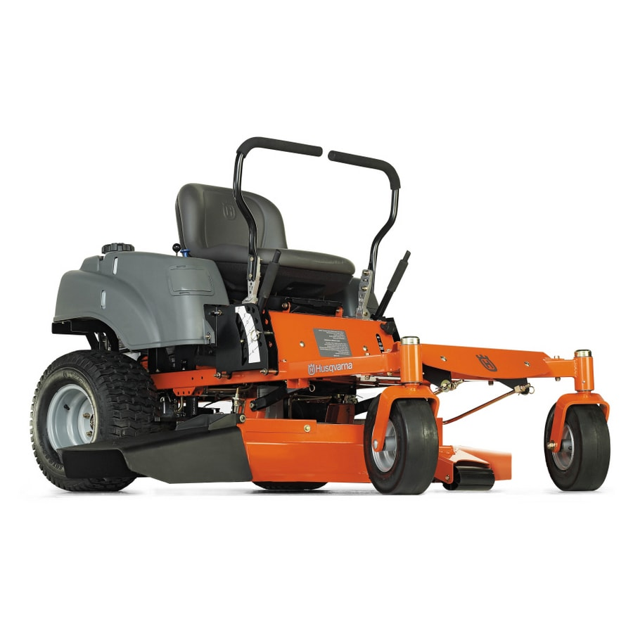 Husqvarna 19.5-HP Dual Hydrostatic 42-in Zero-Turn Lawn Mower