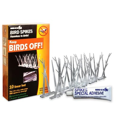 10-lin ft Bird Repellent Spikes at Lowes com