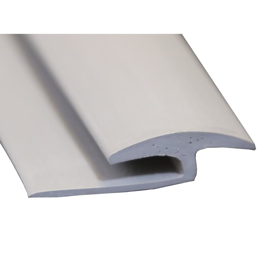 Wellmade 1.375-in x 72-in Grey T-Moulding