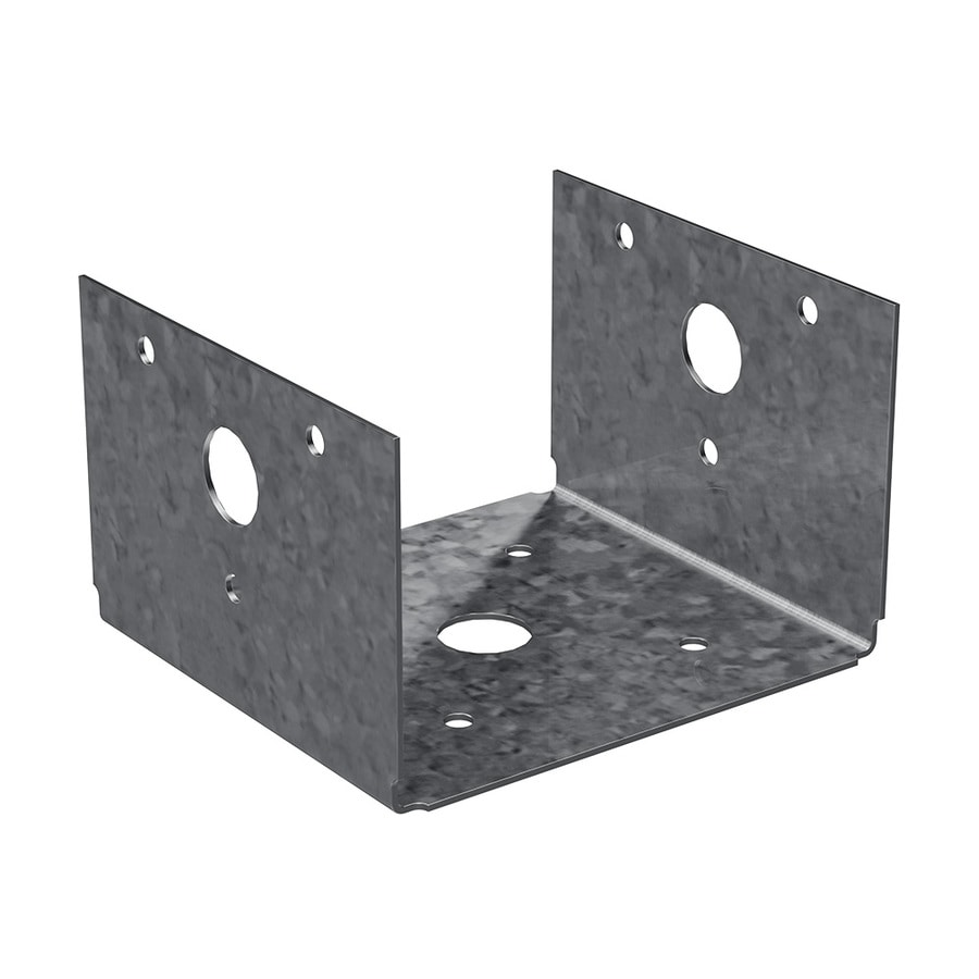 Simpson Strong-Tie Steel G185 Post Base (Common: 4-in; Actual: 3-in)