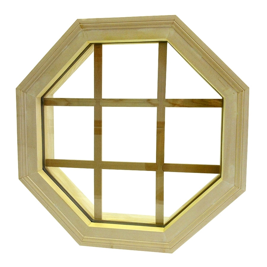 AWSCO Octagon Replacement Window (Rough Opening: 22-in x 22-in; Actual: 24-in x 24-in)
