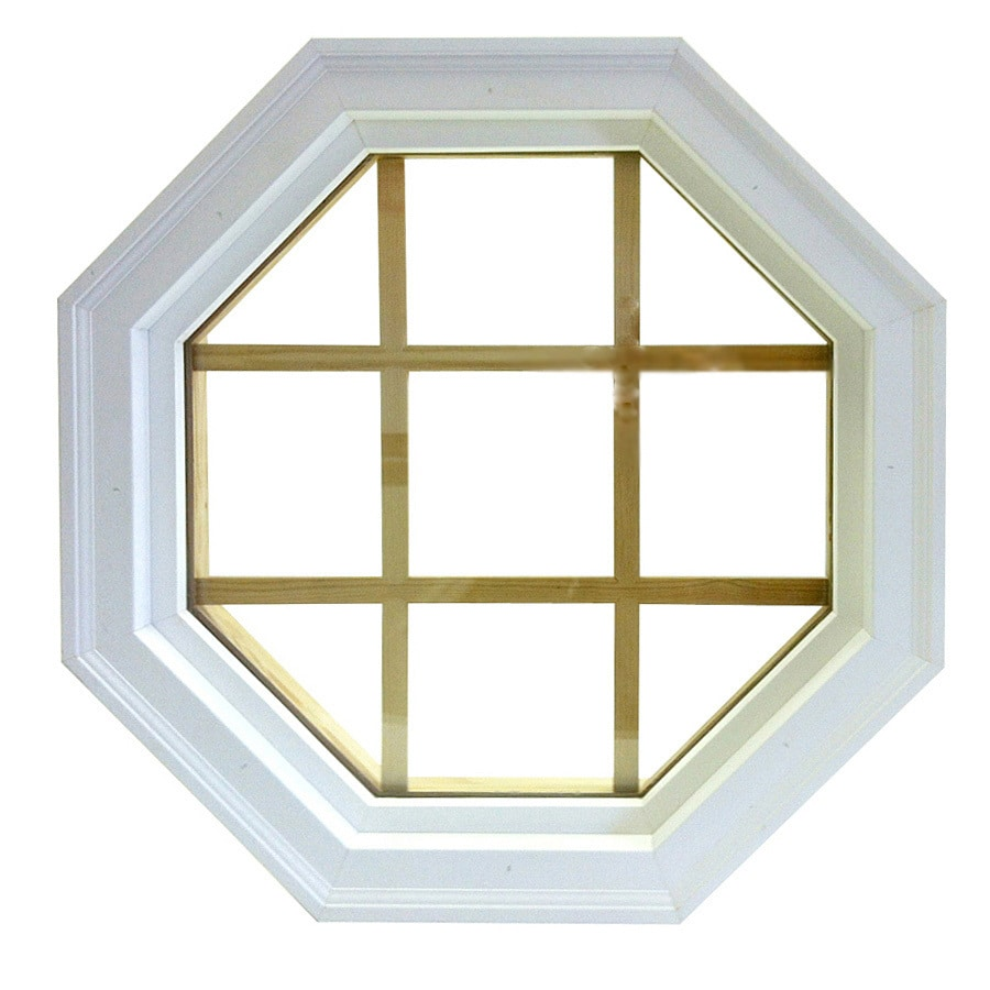 Shop AWSCO Octagon Replacement Window Rough Opening 22 In X 22 In Actual