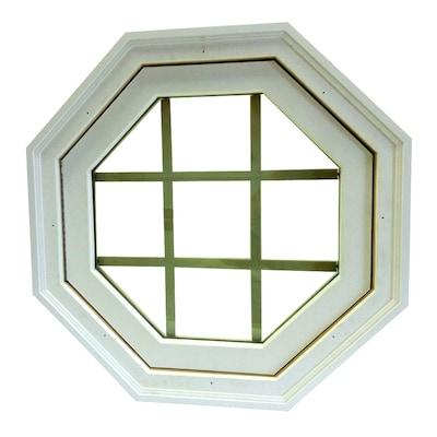 Awsco Octagon Replacement Paint Grade Vinyl Window Rough
