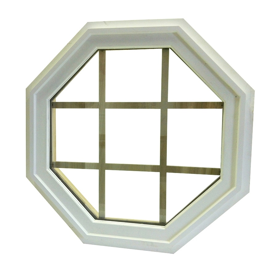 AWSCO Octagon Replacement Window (Rough Opening: 19.5-in x 19.5-in; Actual: 19-in x 19-in)