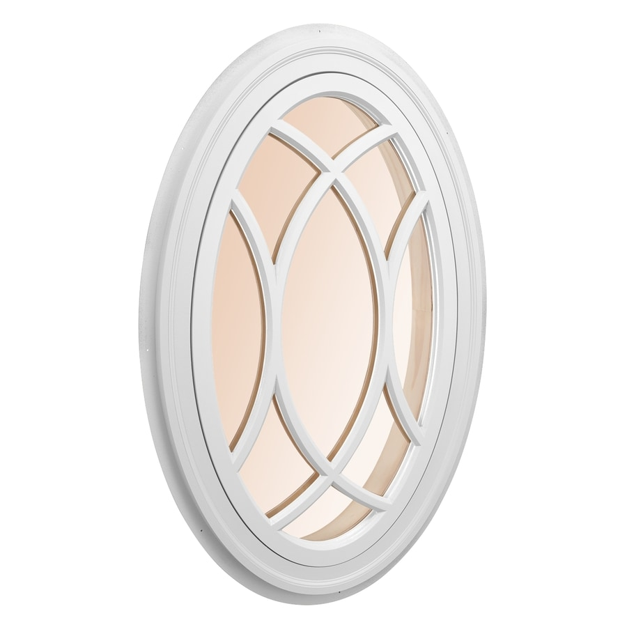 AWSCO Oval Replacement Window (Rough Opening: 21.75-in x 34-in; Actual: 23.75-in x 36-in)