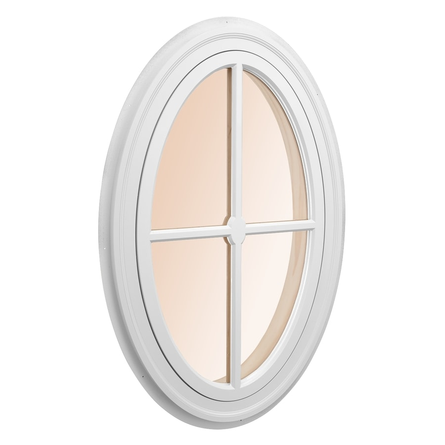 AWSCO Oval Replacement Window (Rough Opening: 29.5-in x 41.75-in; Actual: 31.5-in x 43.75-in)