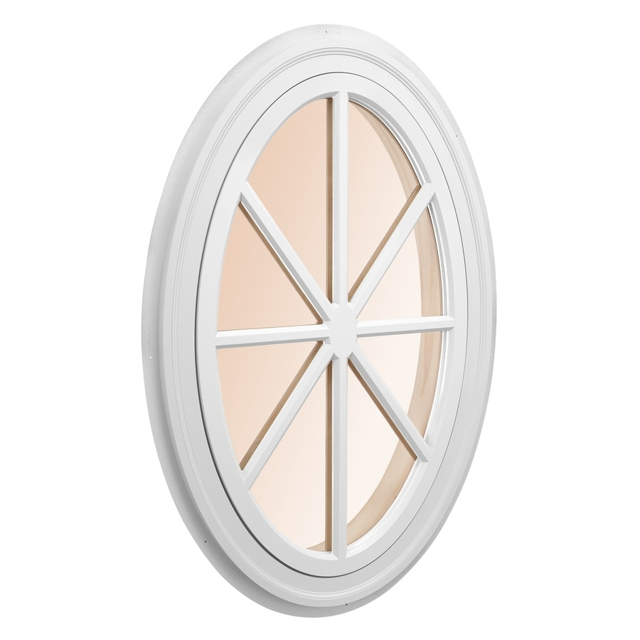 AWSCO Oval Replacement Window (Rough Opening: 29.5-in x 46-in; Actual: 31.5-in x 48-in)