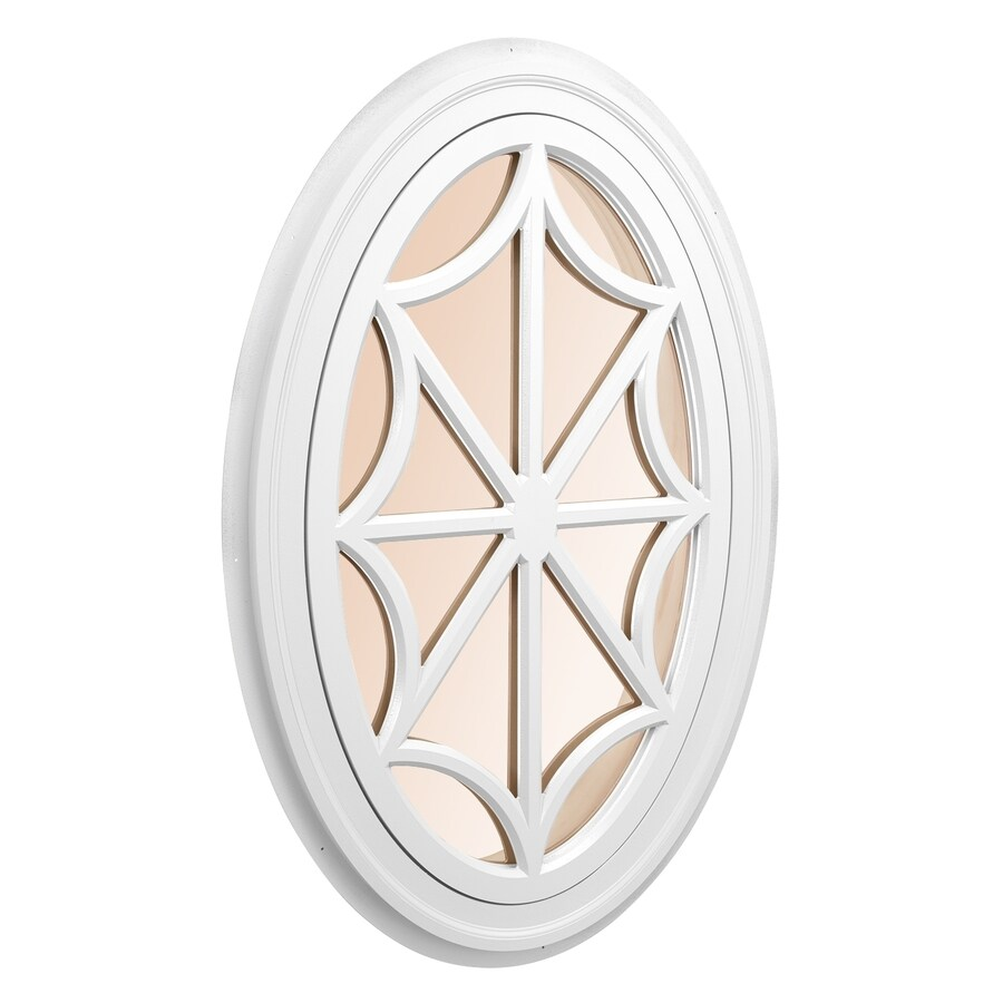 Shop Awsco Oval Replacement Window Rough Opening 34 In X 54 In Actual 36 In X 56 In At