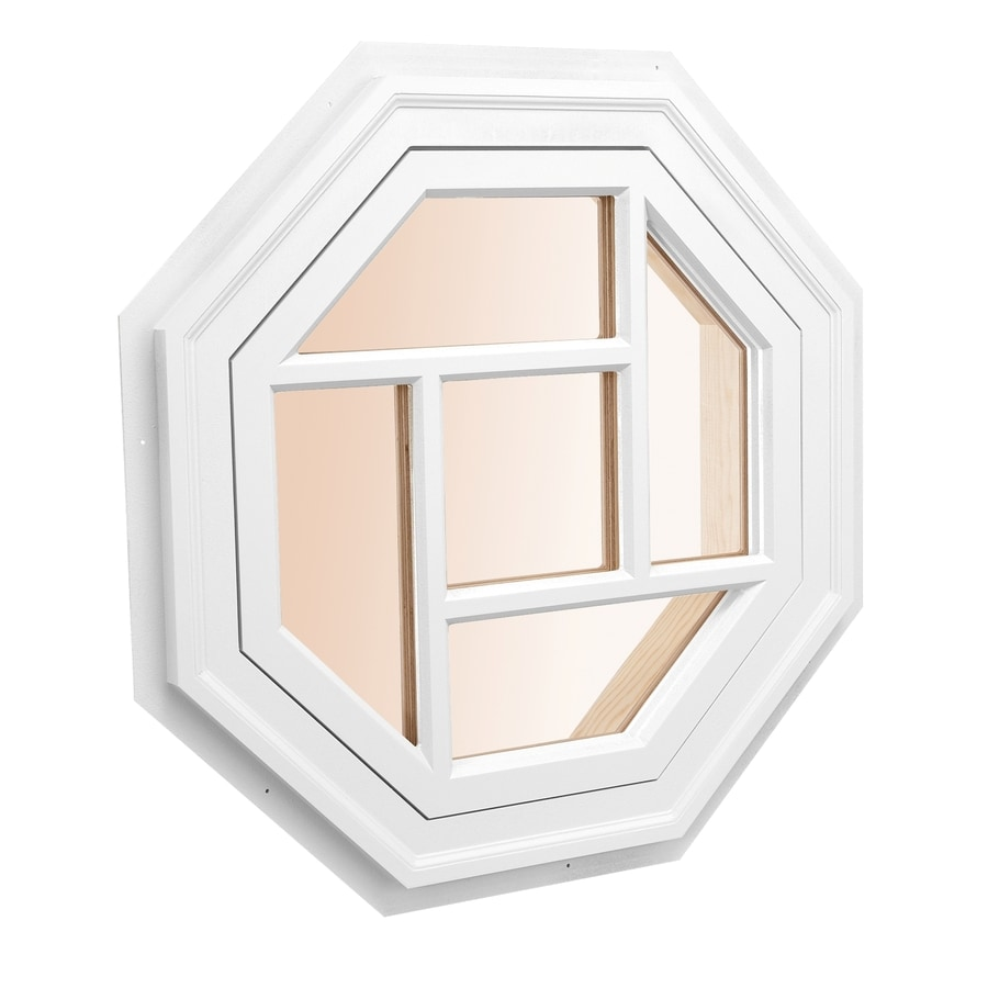 AWSCO Octagon Replacement Window (Rough Opening: 24-in x 24-in; Actual: 26-in x 26-in)
