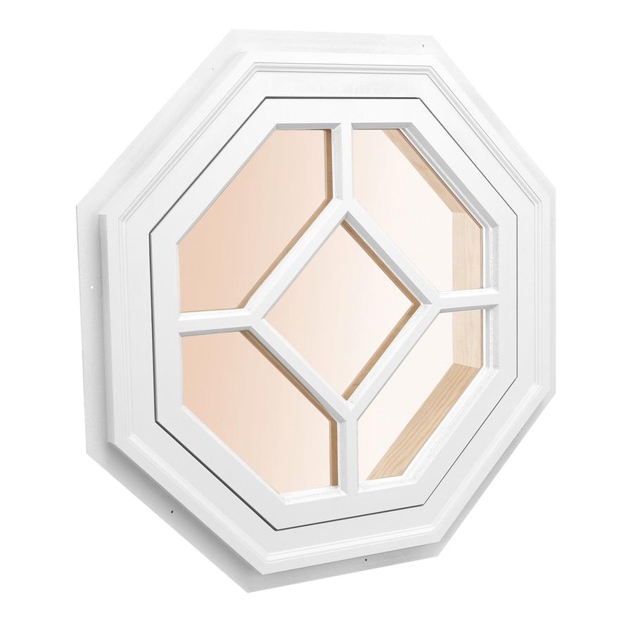 Shop awsco octagon replacement window rough opening 34 for Vinyl window designs ltd complaints