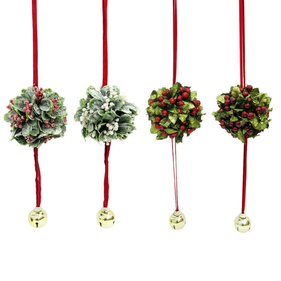 holiday living merry christmas mistletoe
