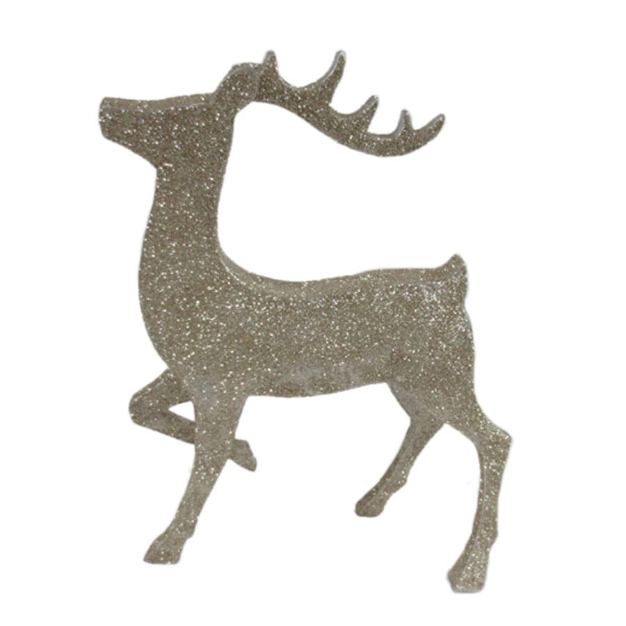 Shop holiday living reindeer indoor christmas decoration for Christmas decorations indoor