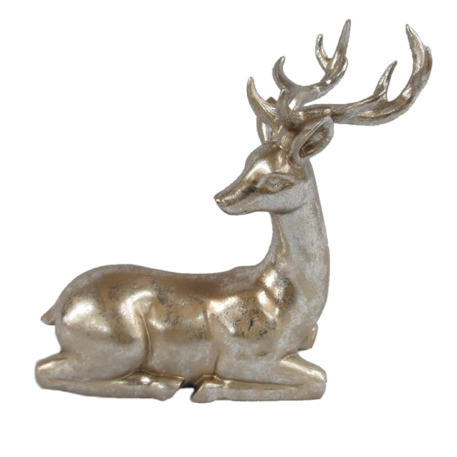 holiday living reindeer indoor christmas decoration - Metal Reindeer Christmas Decorations