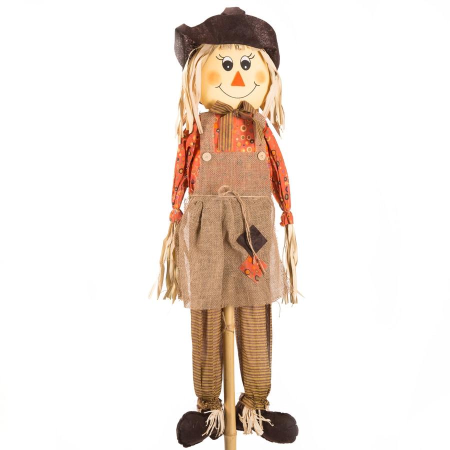 Holiday Living Girl Scarecrow