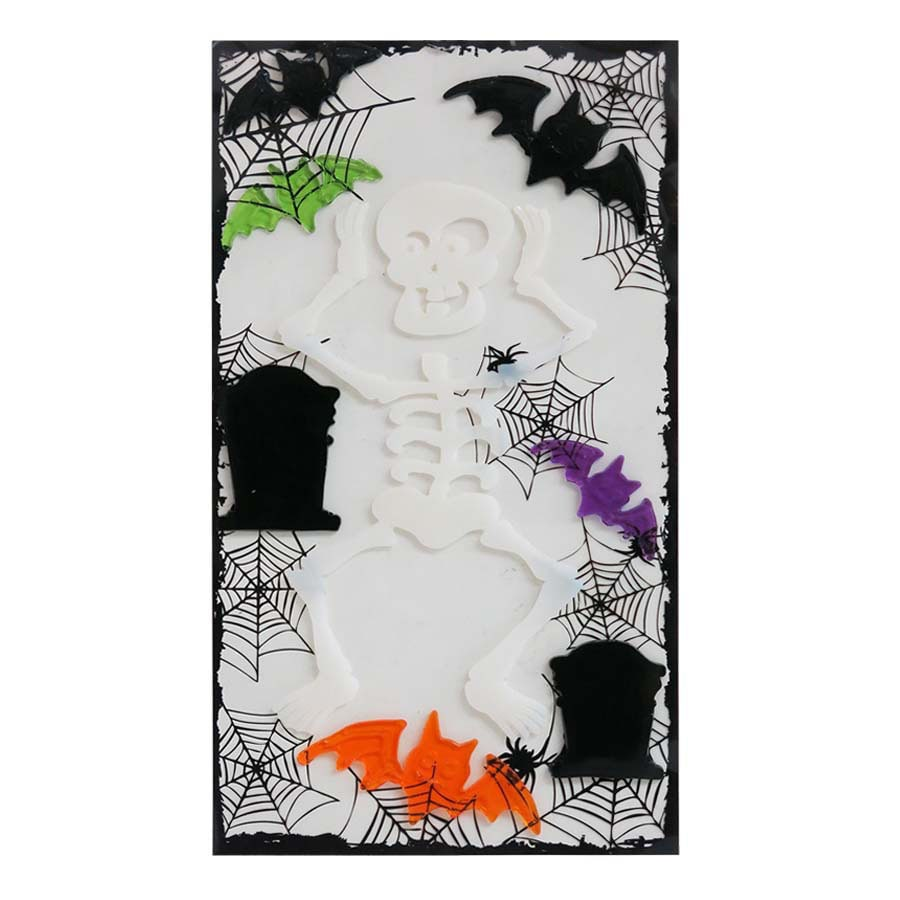 Holiday Living Hanging Skeleton Window Cling