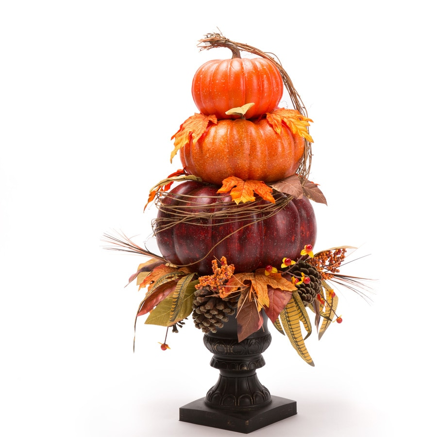 Holiday Living Pumpkin Topiary