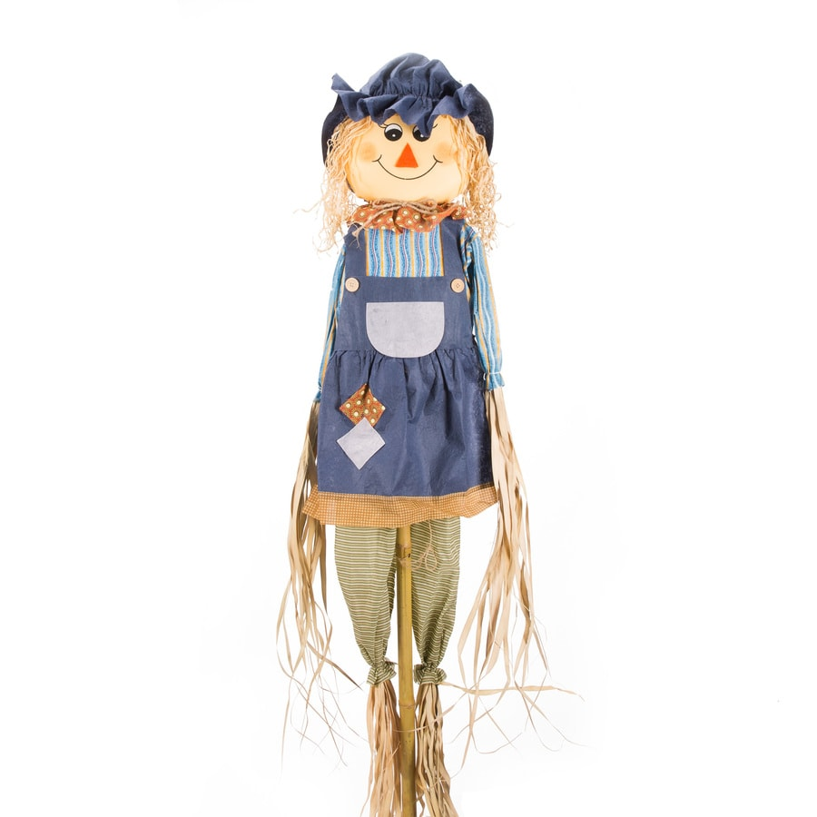 Holiday Living Girl Scarecrow