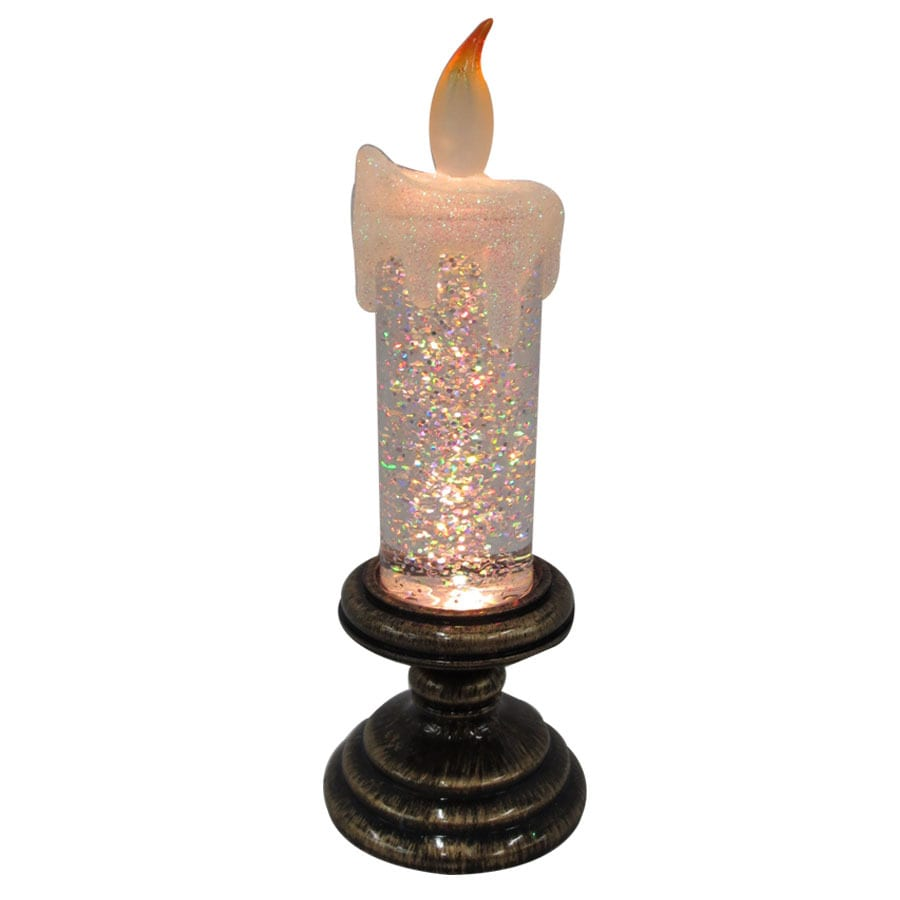 Holiday Living 8-in Battery-Operated LED Multiple Colors/Finishes Electric Decorative Candle