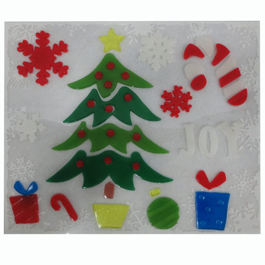 Holiday Living Winter Scene Window Cling
