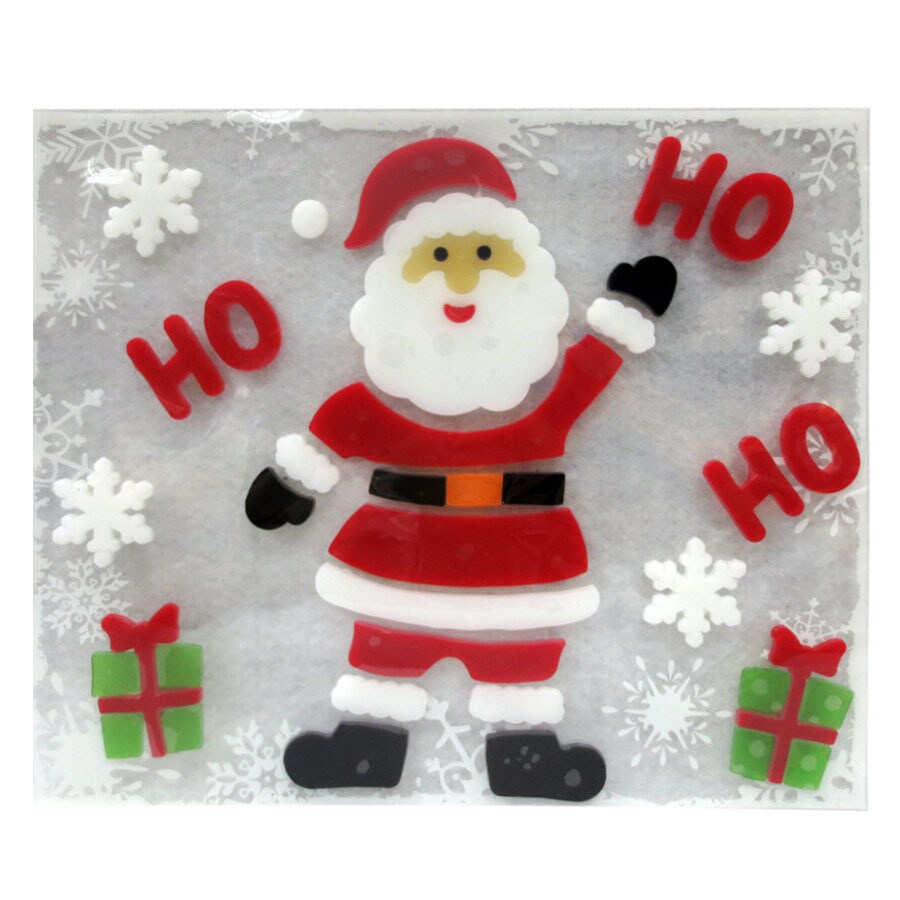 Holiday Living Santa Window Cling