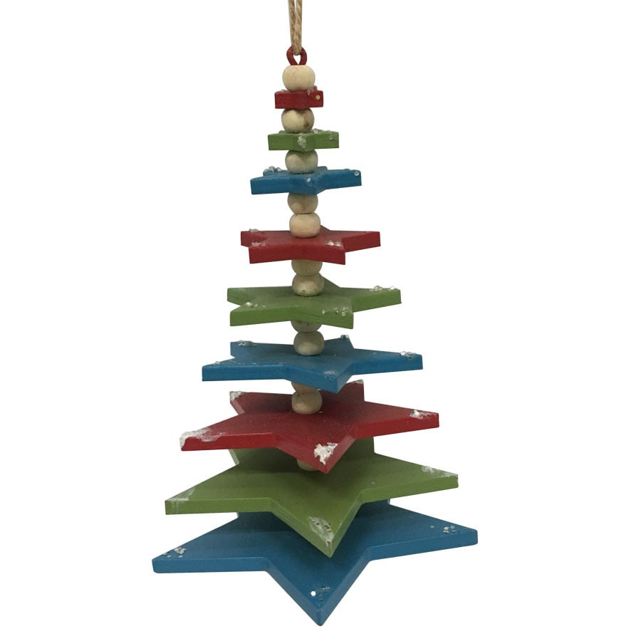 Shop holiday living multiple tree ornament at lowes