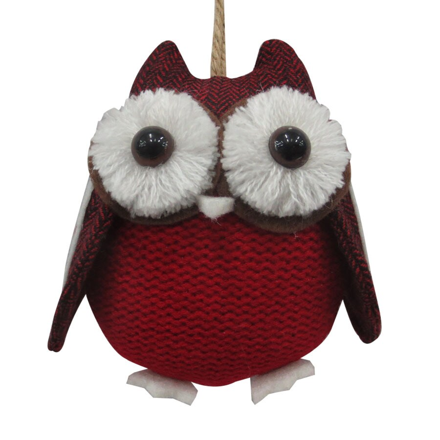 Holiday Living Red Owl Ornament