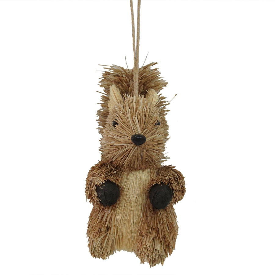 Holiday Living Brown Squirrel Ornament