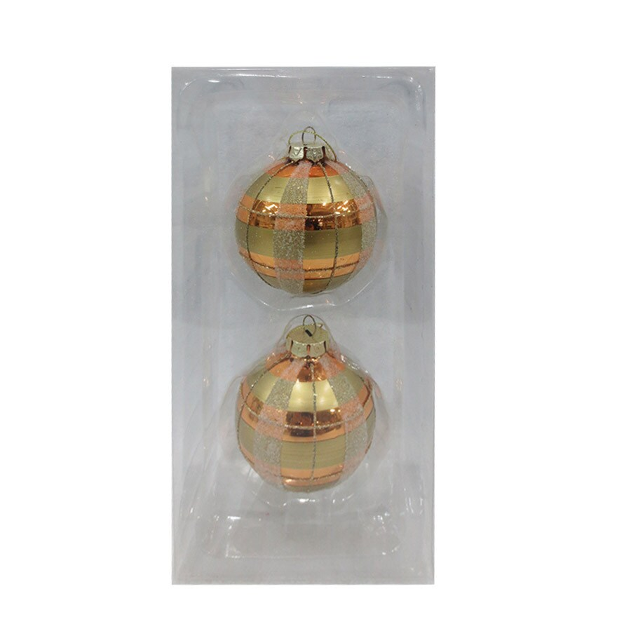 Holiday Living 2-Pack Multiple Ball Ornament Set