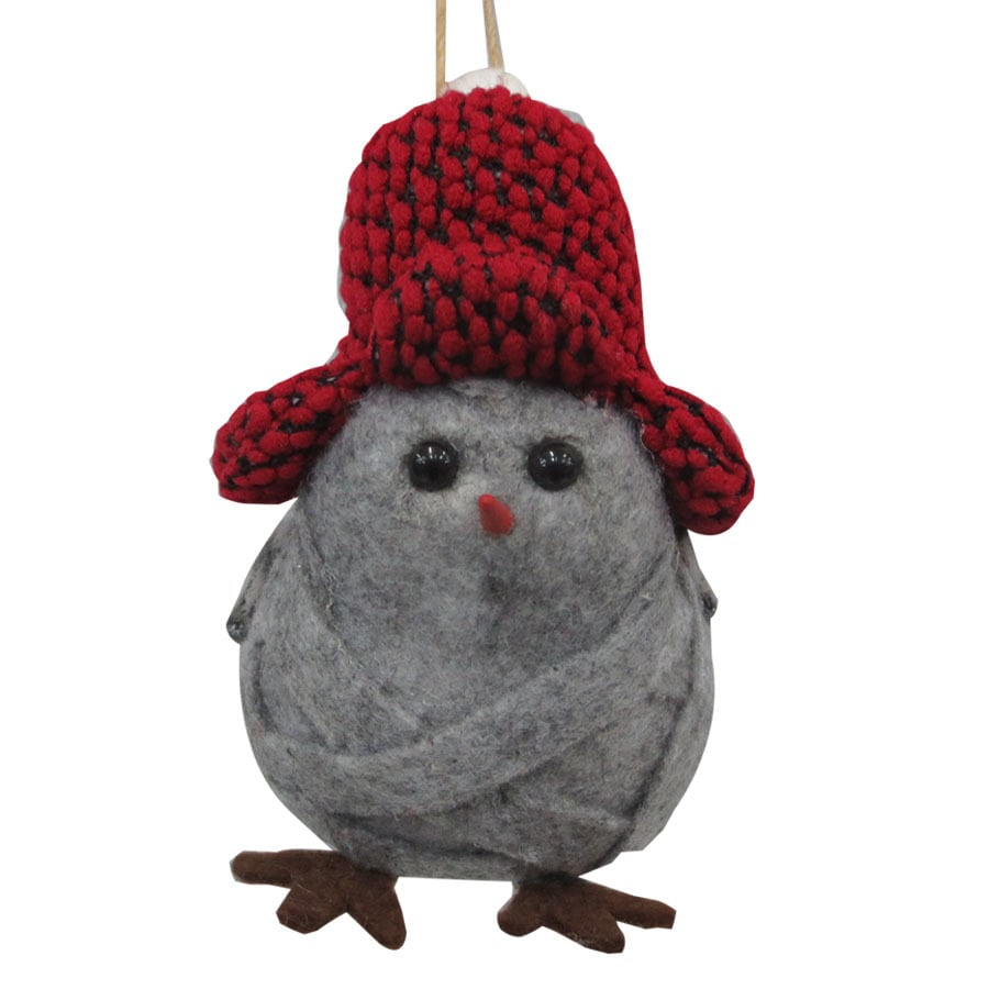 Holiday Living Gray Bird Ornament