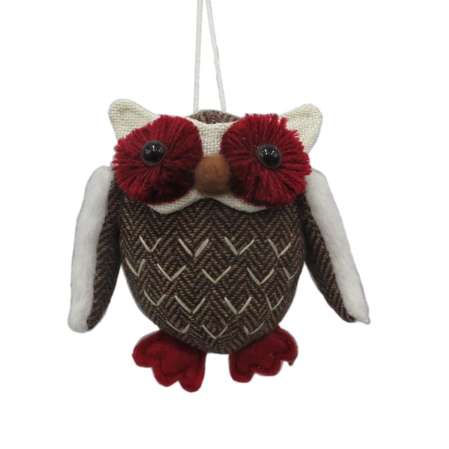 Holiday Living Multiple Owl Ornament