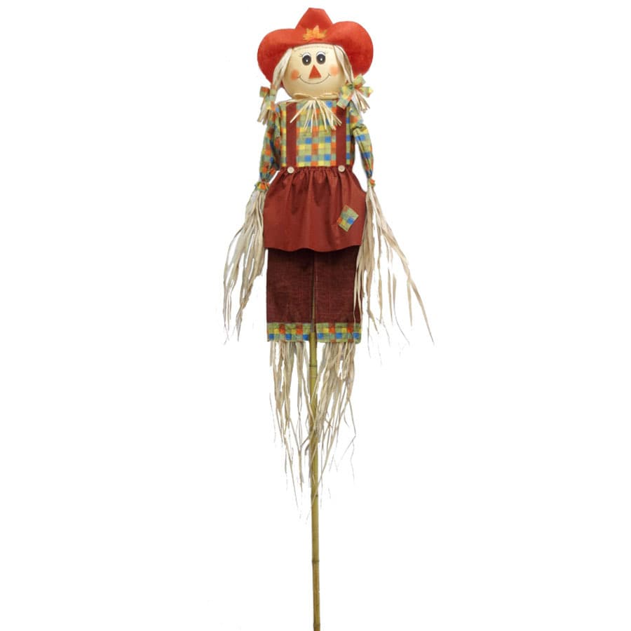Holiday Living 9-ft Girl Scarecrow
