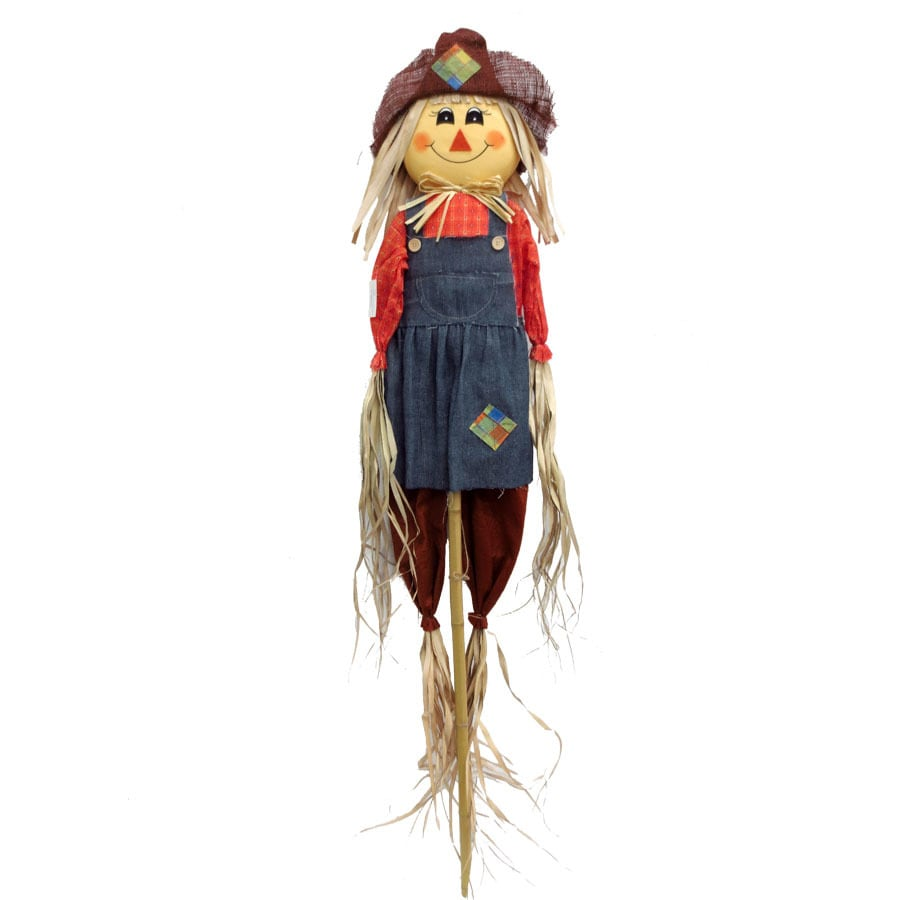 Holiday Living 5-ft Girl Scarecrow