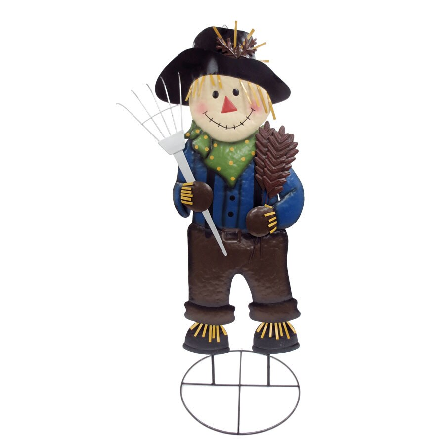 Holiday Living Boy Scarecrow with Unlit Unlit Unlit Lights