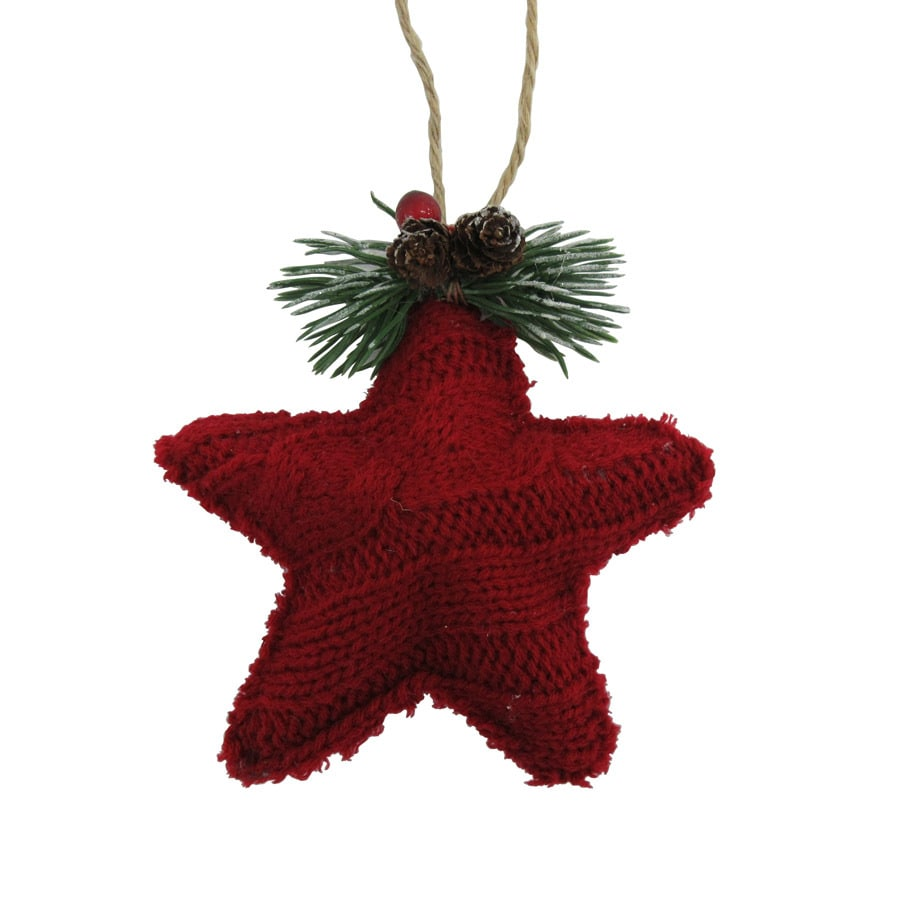 Holiday Living Red Star(S) Ornament