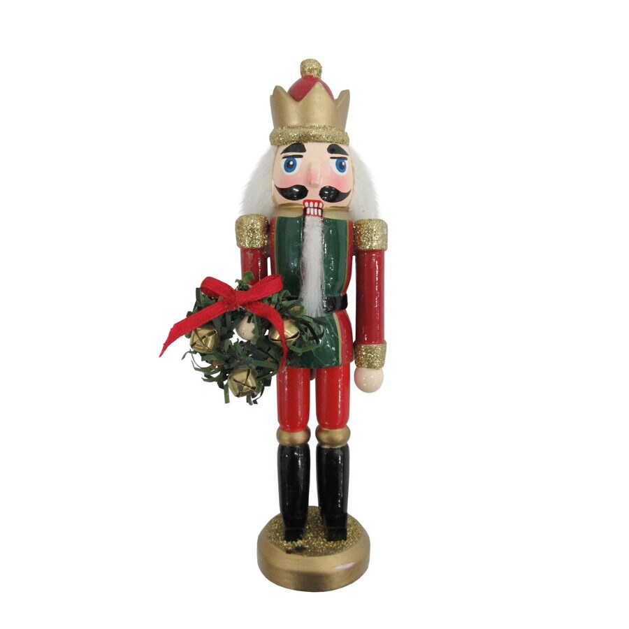 Holiday Living Red/Gold Nutcracker Ornament