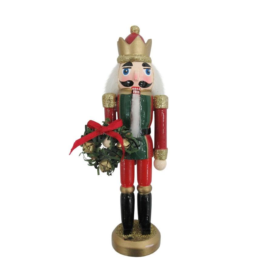 Holiday Living (No Cinematic Universe) Red/Gold Nutcracker Ornament (Unlit) (Unlit) Lights