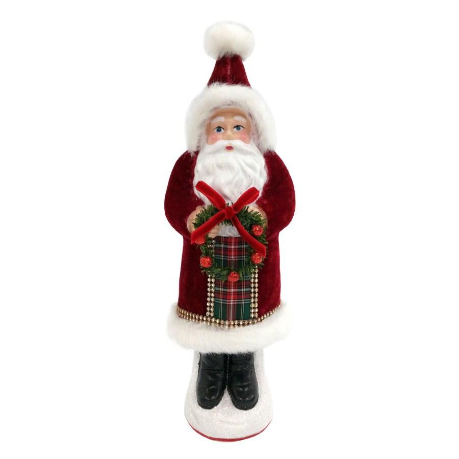 Holiday Living Santa Figurine Lights