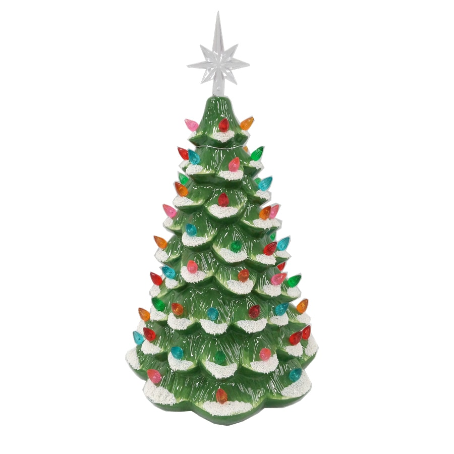 holiday living pre lit tree tree with constant white led lights - Lowes White Christmas Tree