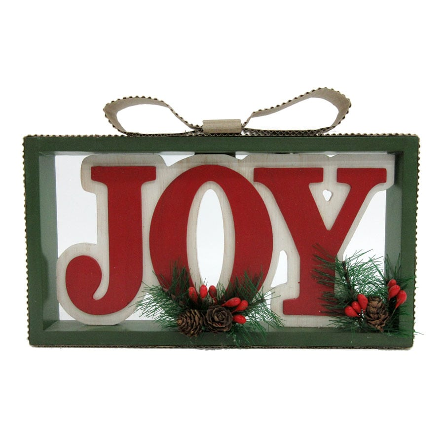 Holiday Living Joy Wall Art Lights