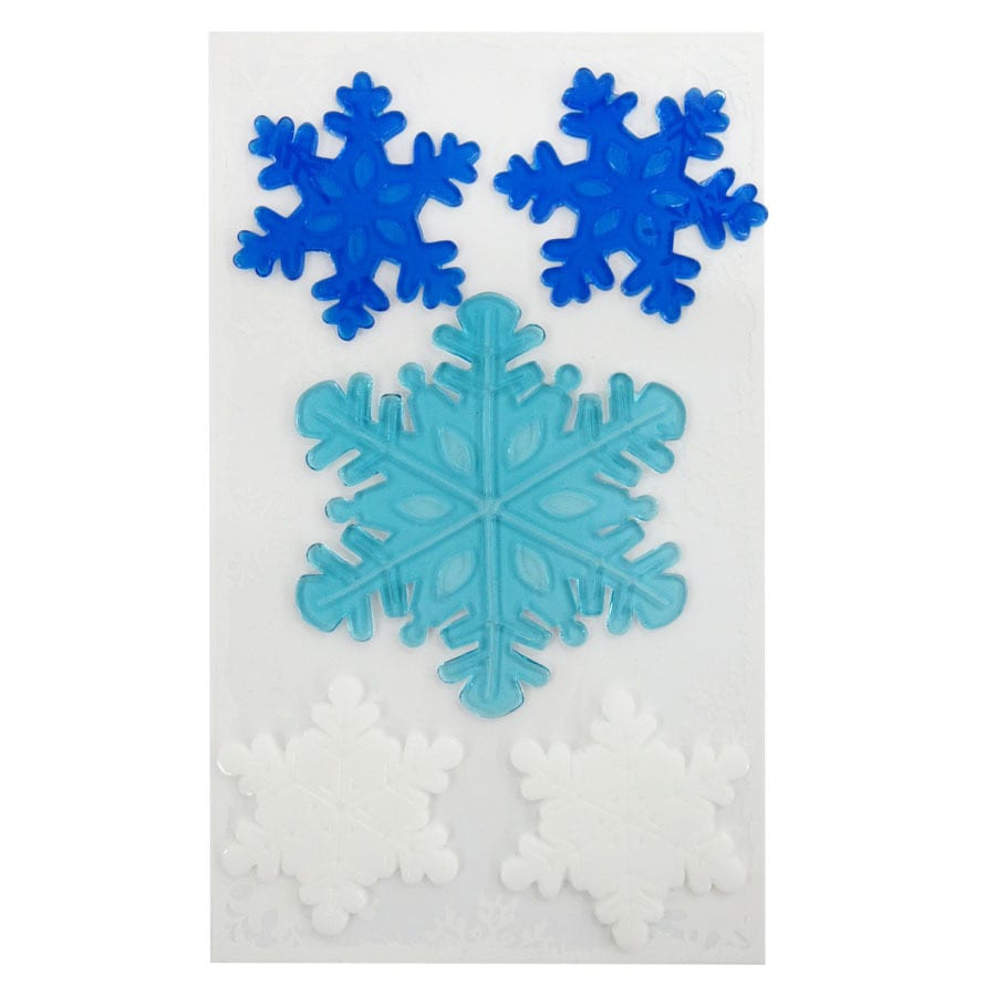Holiday Living Snowflake Window Cling Lights