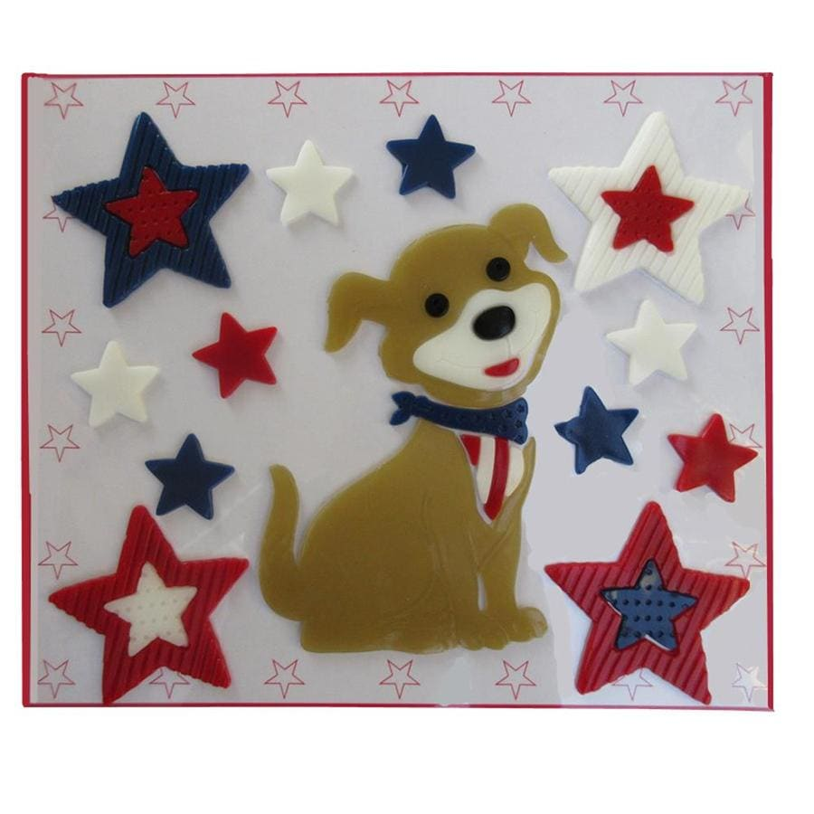 Holiday Living 12X12-in Dog Gel Clings