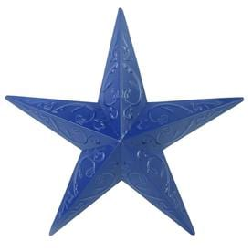 Holiday Living 15-in Patriotic Blue Metal Star