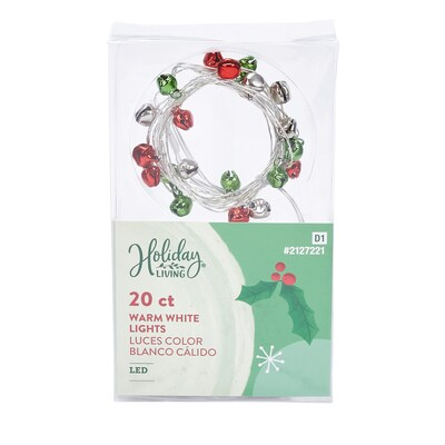 Lowes Led Christmas Lights 11-24-2021 Holiday Living 20 Count 6 33 Ft Warm White Led Battery Operated Christmas String Lights With Timer In The Christmas String Lights Department At Lowes Com