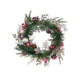 Artificial Christmas Wreaths At Lowes Com