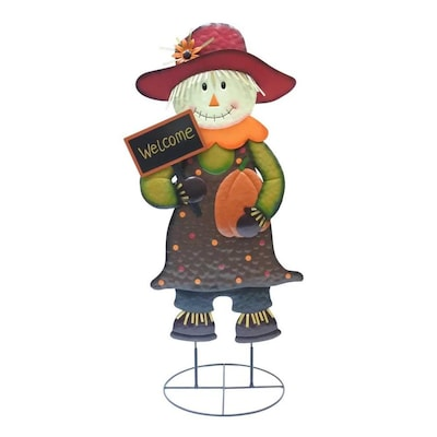 Holiday Living Girl Scarecrow by Lowe's