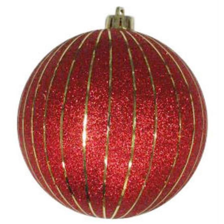 Holiday Living Red Stripe Ornament Lights