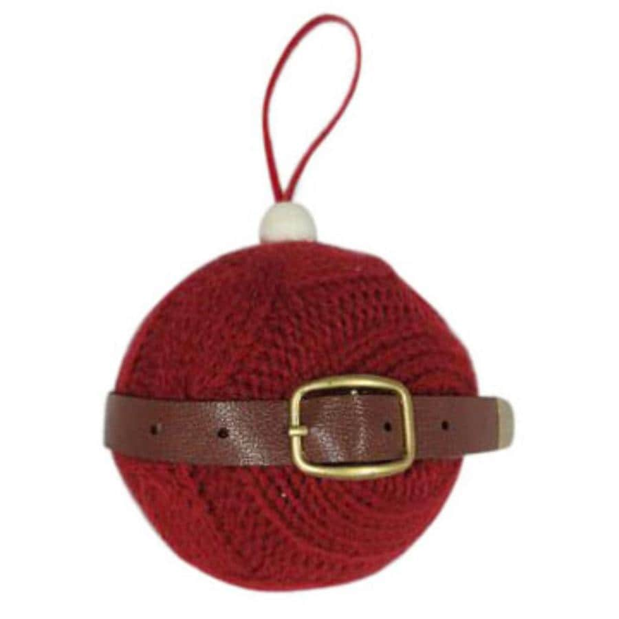 Holiday Living Red with Brown Accent Ornament Lights