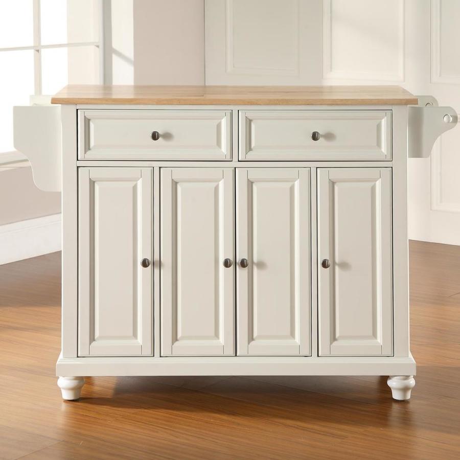 Crosley Furniture White Composite Base