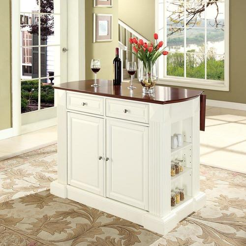 crosley furniture white composite base with composite wood